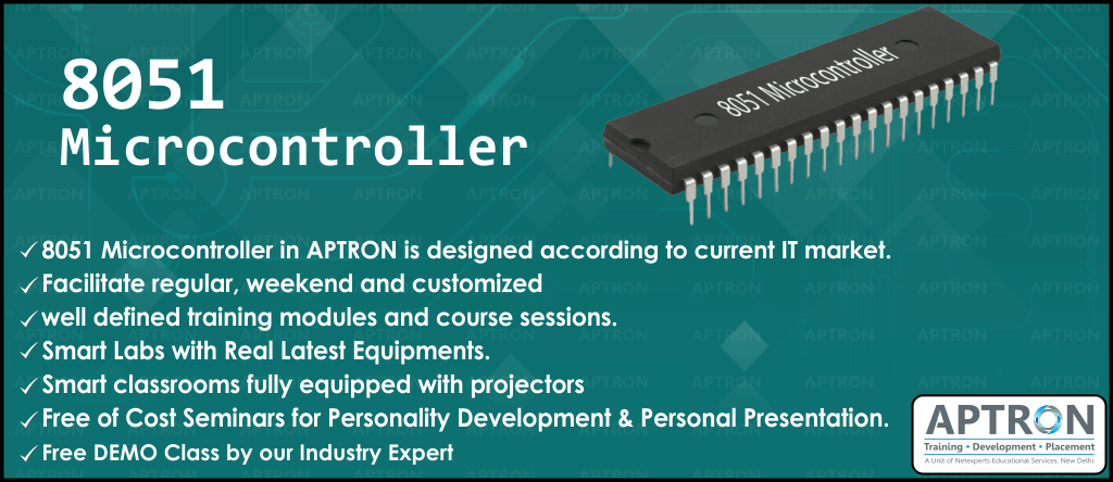 Best Embedded Systems 8051 Microcontroller training institute in Delhi