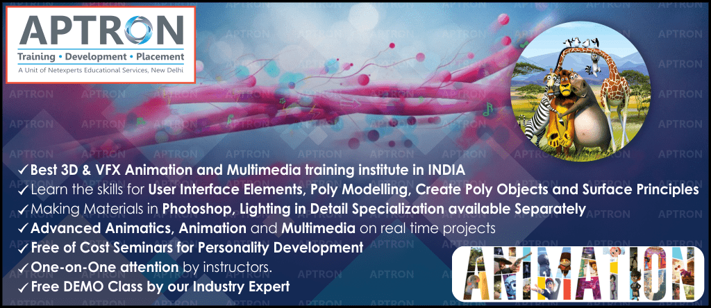 Best Animation and Multimedia training institute in Delhi