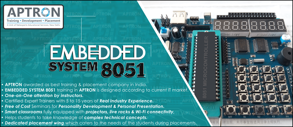 Best Embedded System 8051 training institute in Delhi