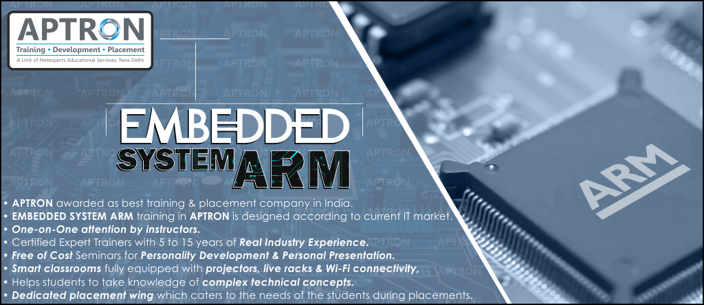 Best Embedded System ARM training institute in Delhi