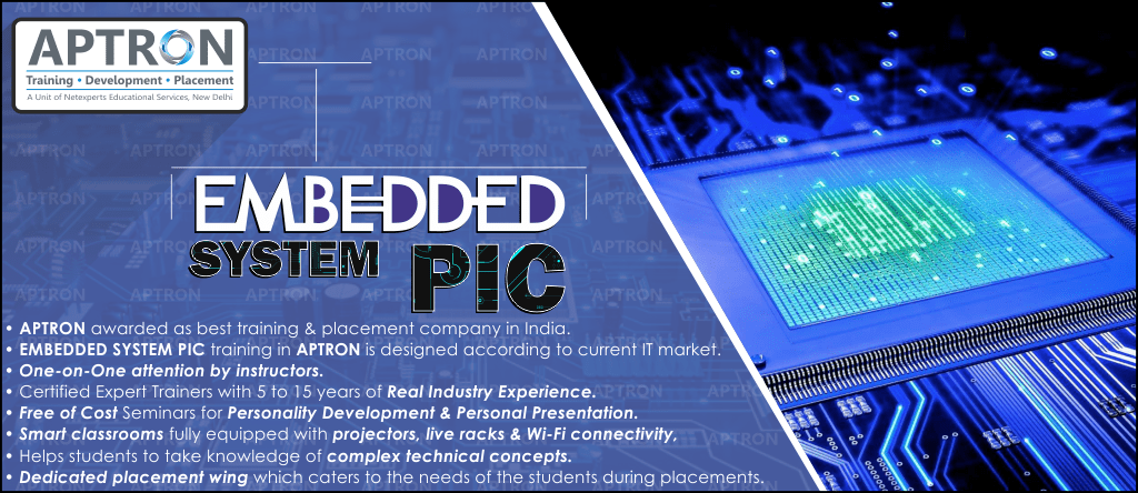 Best Embedded System PIC training institute in Delhi
