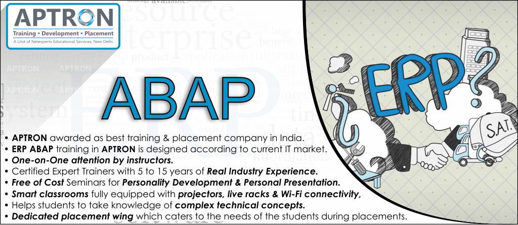 Best ERP ABAP training institute in Delhi
