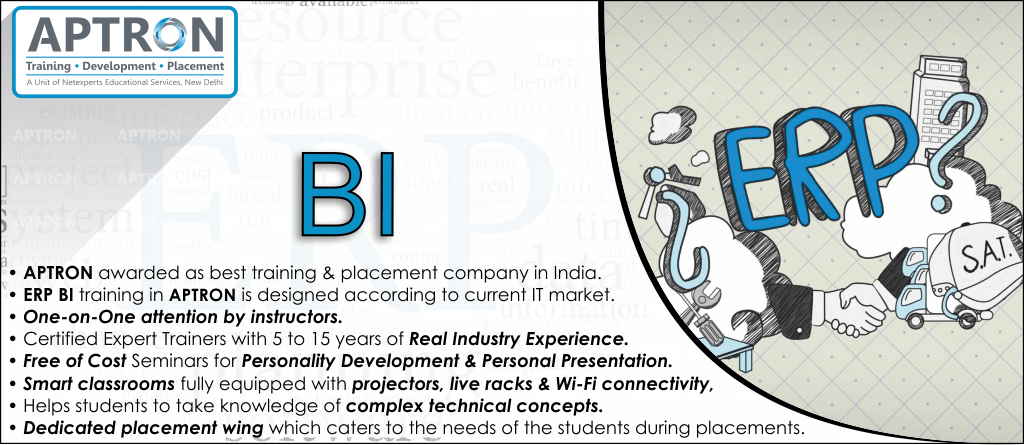 Best ERP BI training institute in Delhi