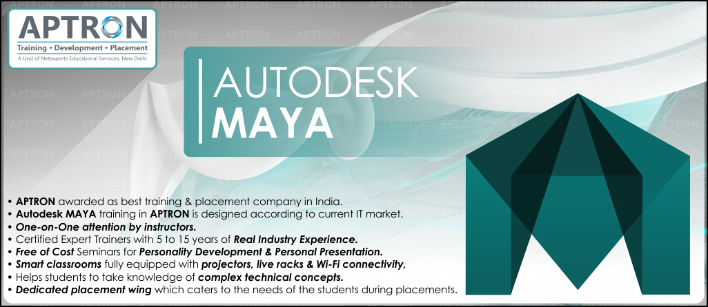 Best Maya software training institute in Delhi