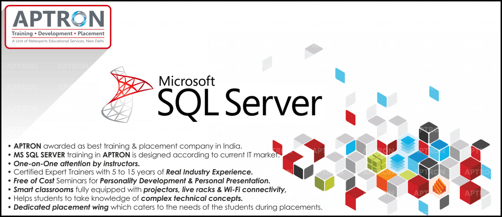 Best MS SQL Server training institute in Delhi
