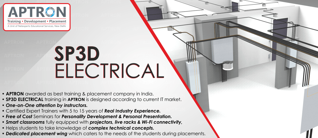 Best SP3D Electrical training institute in Delhi