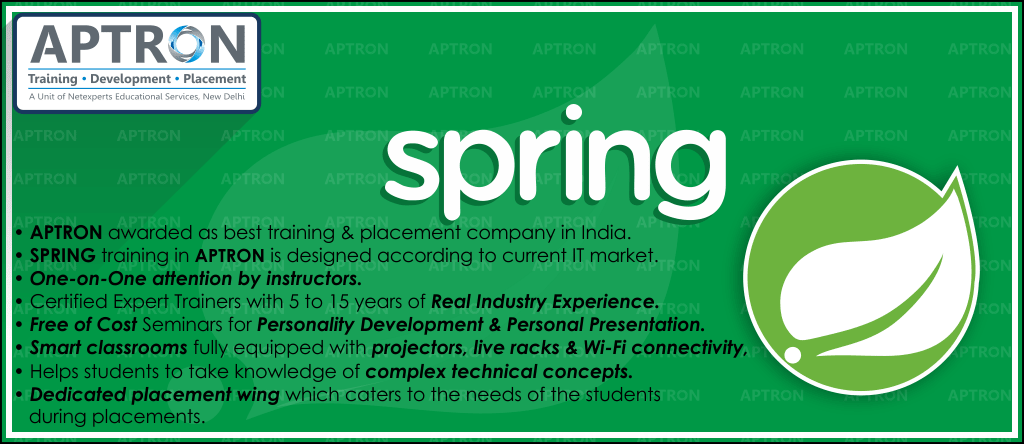 Best Spring training institute in Delhi