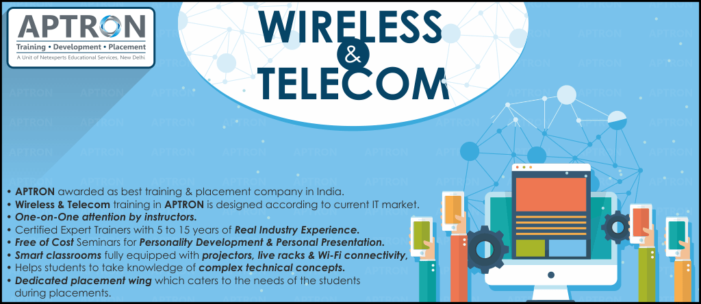Best Wireless and Telecom training institute in Delhi
