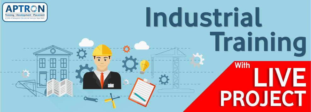 Best 6 Months 6 Weeks Industrial Training In Delhi With Live Projects